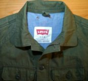 Куртка Levi's раз.46-48,новая. Банглодэш.