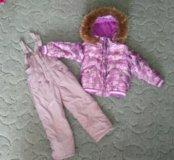 Зимний комплект для девочки 110