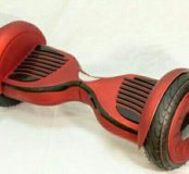 Гироскутер матовый Premium Red, колпаки bg76425