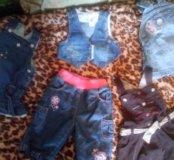 Джинсовая одежда малышам