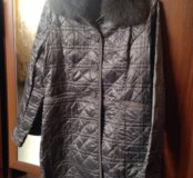 Весеннее стеганое пальто Франческо донни новое