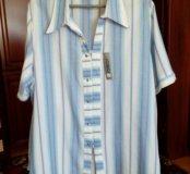 Женская рубашка,большой р-р62-64