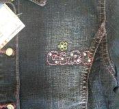 Куртка джинс новая