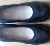 Туфли босоножки на танкетке Мида