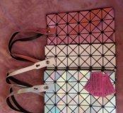 Новые блестящие сумки