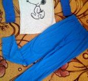 новая пижама костюм на маличика 8-11 лет .