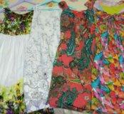 Летние платья для беременных мешком