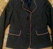 Школьный пиджак 128-134