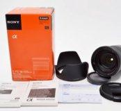 Sony sel 18-105 4