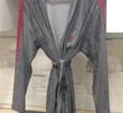 Новый велюровый халат