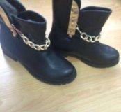 Ботинки женские, новые зима