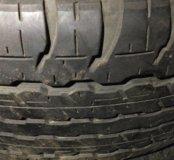 285 65 R17 4 шт. резины Dunlop Grandtrek AT22