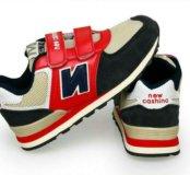 Новые кроссовки красные с синим
