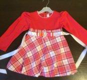 Платье 86-95см