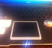 Ноутбук msi x410
