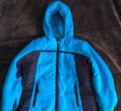 Куртка голубая 6-7 лет