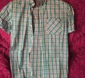 Рубашка на 12-14 лет ,100% хлопок