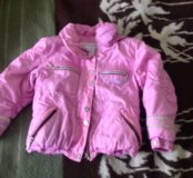 Демисезонная курточка на 5-6 лет