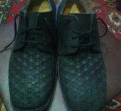 Новые кожаные ботинки 42