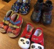 Ботинки 21р и сандали
