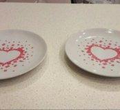Тарелки икеа десертные
