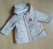 Куртка пальто на девочку 68 весна/осень