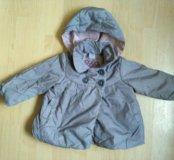Пальто куртка 78+ Zara baby