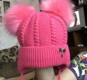 Детская шапка 3-4 года