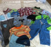 Пакет одежды от 6 мес до 1 года