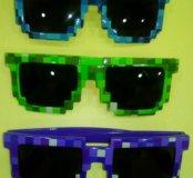 "Солнцезащитные очки ""майнкрафт"""