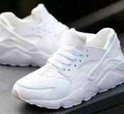 NikeAirHuarache белые