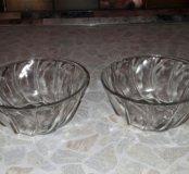 Стеклянные салатники