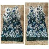 Платье летнее на девочку 9-12 лет