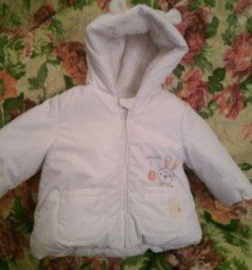 Детская куртка на осень-весну