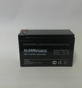 Аккумулятор для ИБП 12w 7a/с