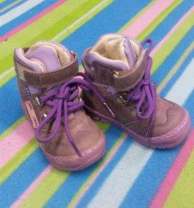 Абсолютно новые демисезонные ботиночки