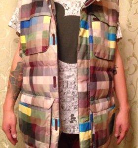 Куртка-жилетка DC silverton мужская Сноуборд. Лыжи