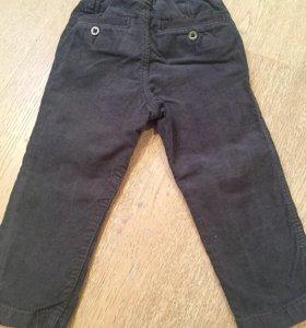 Детские вельветовые брюки