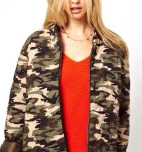 Куртка в стиле милитари asos торг уместен