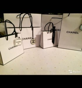 CHANEL подарочные пакеты