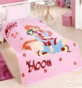 Плед одеяло winx