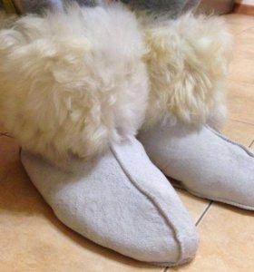 Новые! Меховые носки