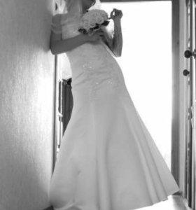 Свадебное платье из салона Belfaso, русалочка