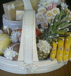 Подарочные коробки,свадебные акссесуары на заказ