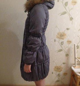 Зимнее пальто для беременных.
