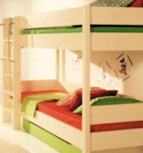 Двухъярусная кровать высшего качества