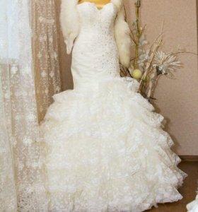 Свадебное платье в стиле 90-х