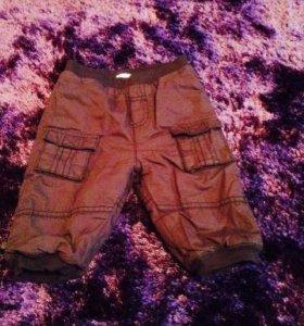 Утепленные штанишки 3-6 мес