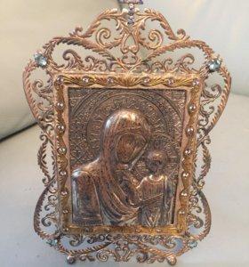 Икона серебрянная