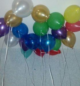 20 шаров за 1200руб  50 шаров  за 2500руб